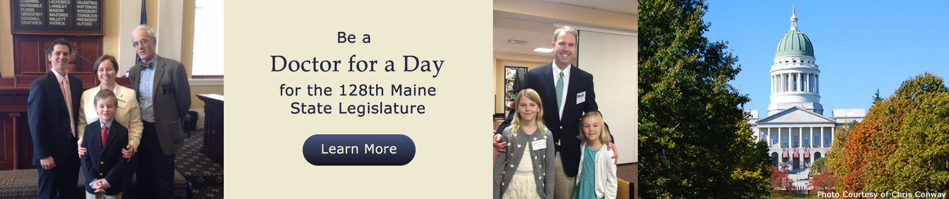 Banner for Doctor for a Day 2017.