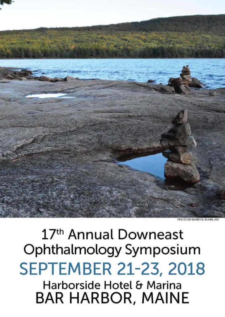 Save the date for the annual Downeast Ophthalmology Symposium.