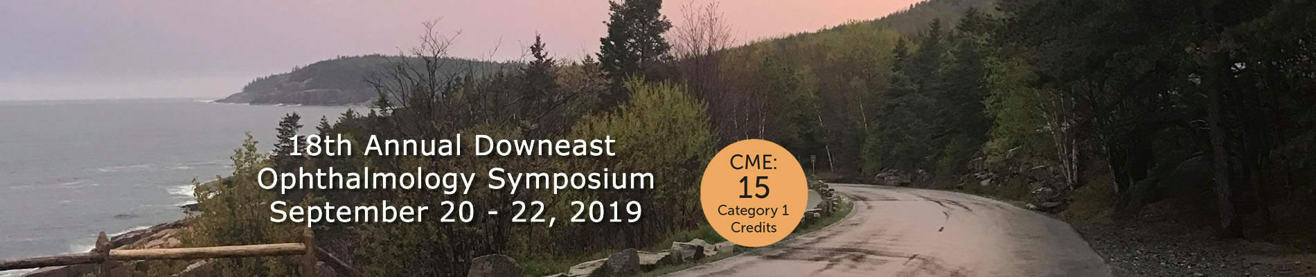 Link to 18th Annual Downeast Ophthalmology Symposium.